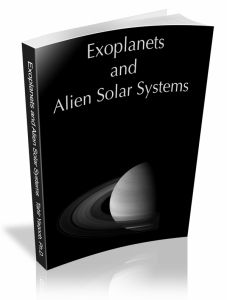 Exoplanets and Alien Solar Systems 3D book cover
